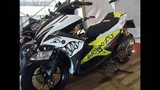 Aerox Modif Simple by Yamaha Aerox 155 Modif Simple Harian Decals Stickers