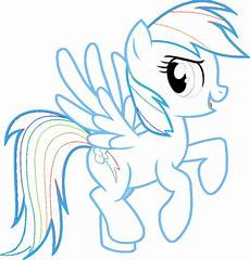 My Pony Malvorlagen Rainbow Dash Rainbow Dash My Pony Coloring Pages Learn