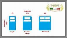 misura materasso singolo misure standard