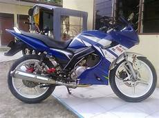 Suzuki Thunder 125 Modif by Suzuki Thunder 125 Modifikasi Trail Thecitycyclist