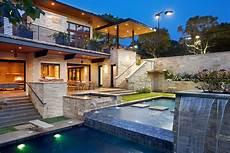 Haus Hanglage Modern - world of architecture spirit lake modern hillside home