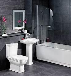 Black Grey And White Bathroom Ideas White And Black Bathroom Decorating Ideas 2017