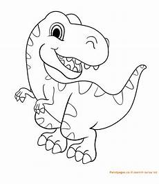 baby dinosaur coloring pages for preschoolers 16819 דף צביעה דינוזאור רקס dinosaur coloring pages