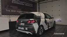 vw golf gti edition 35 with akrapovic exhaust and tuning