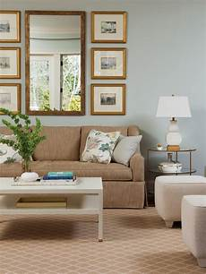 wall colours for light furniture light blue walls are paired with neutral furniture and accessories for a light airy living room