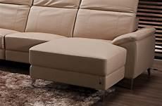 canap 233 d angle relax en cuir de buffle italien de luxe 5