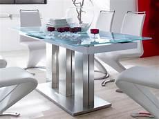 esstisch glas ausziehbar glasplatte glastisch ausziehbar esstisch grau verschiedene gr 246 223 en