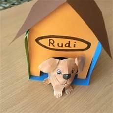 Tiere Basteln Aus Papier - hund aus papier basteln im kidsweb de