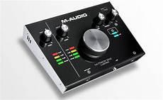 The M Audio M Track 2 215 2 Audio Interface Audio Gold