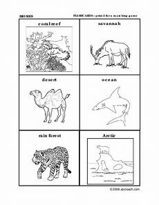 animal habitat worksheets for 3rd grade 13892 animal habitats worksheet for 3rd grade lesson planet