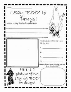 red ribbon week quot i say boo to drugs quot by stilson s school house