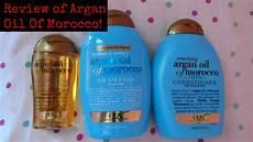 ogx argan of morocco shoo review