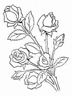 Ausmalbilder Blumen A4 Ausmalbilder Blumen 4 Ausmalbilder