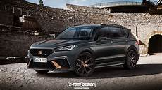 Seat Tarraco Is A Possible Candidate To Get The Cupra