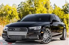 2017 audi a4 rides on vossen wheels looks extremely