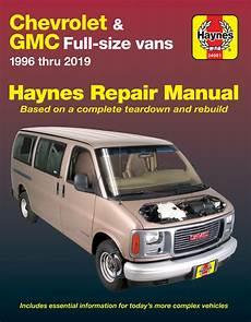all car manuals free 1996 chevrolet express 1500 electronic toll collection chevrolet express gmc savana full size gas vans 96 19 haynes repair manual haynes manuals