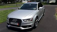 2014 audi a4 with black optic package with propeller wheels youtube