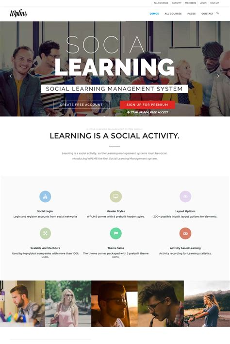 clever course v2 11 learning management system theme
