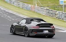 2018 Porsche 911 Speedster Top Speed