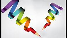 Graphic Design Clipart illustrator tutorial graphic design 3d logo pencil