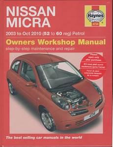 nissan micra k12 petrol 2003 2010 haynes service repair manual sagin workshop car manuals nissan micra k12 petrol 2003 2010 haynes service repair manual sagin workshop car manuals