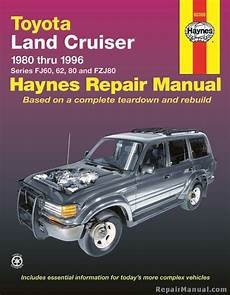 what is the best auto repair manual 1996 infiniti j seat position control haynes toyota land cruiser 1980 1996 auto repair manual