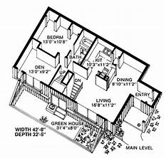 earth berm house plans contemporary earth sheltered s house plan 19863 house