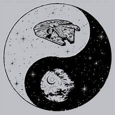 jedi sith yin yang t shirt side textual tees