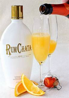 rumchata creamsicle chagne pour brunch rumchata
