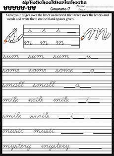 cursive writing worksheets for grade 2 22809 handwriting worksheets for preschools playschools and after schools