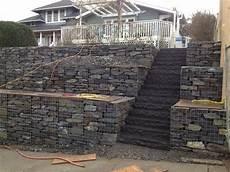gabion walls in landscape construction kolb llc