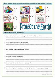 nature protection worksheets 15140 how to protect the earth at home worksheet free esl printable worksheets made by teachers