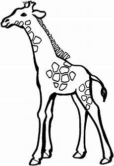 Gratis Malvorlagen Giraffe Giraffe Mit Wenigen Punkten Ausmalbild Malvorlage Tiere