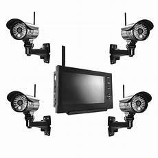 funk 252 berwachung set 4x 220 berwachungskamera 1x monitor