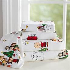 peanuts flannel sheet xl from pbteen christmas is