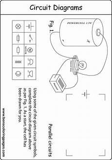 Parallel Circuit Diagram Worksheet For Students