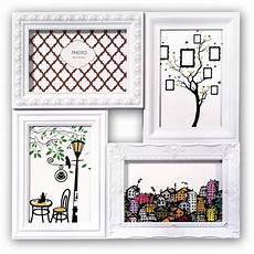 cadre photo pour 4 photos cadre photo multivues cordoba blanc pour 4 photos 10x15 cm
