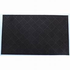 6 Ft Door Mat by Shop Blue Hawk Brown Rectangular Door Mat Common 4 Ft X