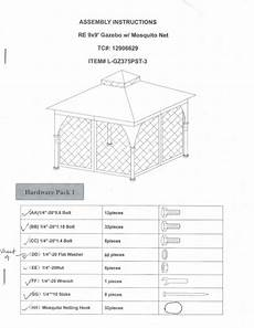 assembly gazebo 9x9 with mosquito net