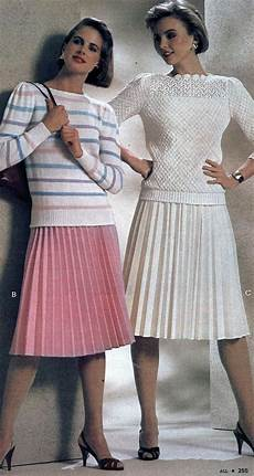1980s skirts and hairstyles 1980s fashion women girls styles trends pictures
