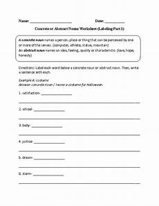 labeling concrete or abstract nouns worksheet englishlinx com board pinterest nouns