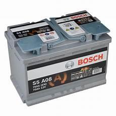 Bosch S5 A08 Agm Vrla Start Stop Starterbatterie 70ah
