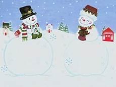 schneemann und schneefrau windows