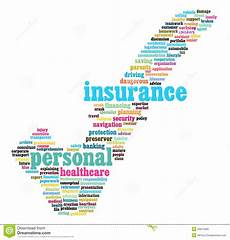 insurance info text graphics stock illustration
