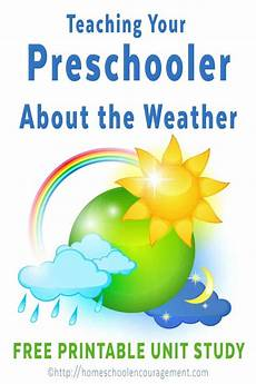 preschool weather unit