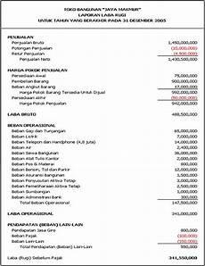 catatan annisa laporan keuangan