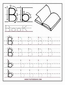 printable letter b tracing worksheets for preschool letter worksheets for preschool alphabet