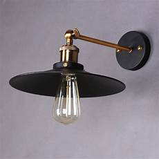 retro industrial rustic metal wall sconce l ceiling fixture light cafe ebay