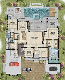 mediterranean house plans with pools pool mediterranean house plans traditional with courtyard