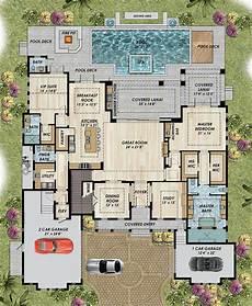 mediterranean house plans with pools pool mediterranean house plans traditional with courtyard